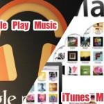 【比較】今すぐiTunes Matchを捨ててGoogle Play Musicに乗り換えるのが賢い選択!