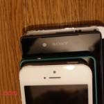 【比較画像】Galaxy S7 edgeとXperia Z5の大きさはほとんど同じ!