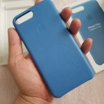 【iPhone7 Plus】純正レザーケースを買ったのでレビューする!高級感はないがさすが純正の安定感?!