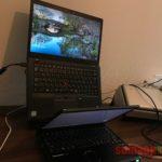 オススメできるノートパソコンスタンドを購入しました!ほぼ垂直まで角度を調整できてコンパクト!