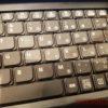 レッツノートの「ローマ字すっきりキーボード」はこんな感じ【画像】